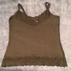 White House Black Market lace camisole